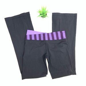 Lululemon Astro pants with purple band